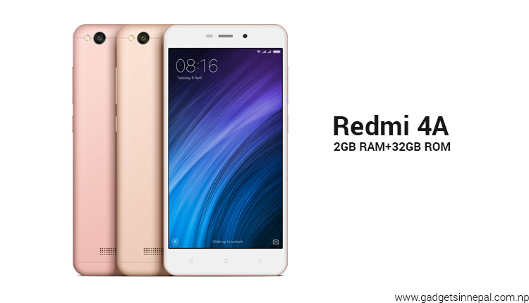 Redmi 4A 32GB price in Nepal