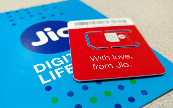 Reliance JIO 4G service in India