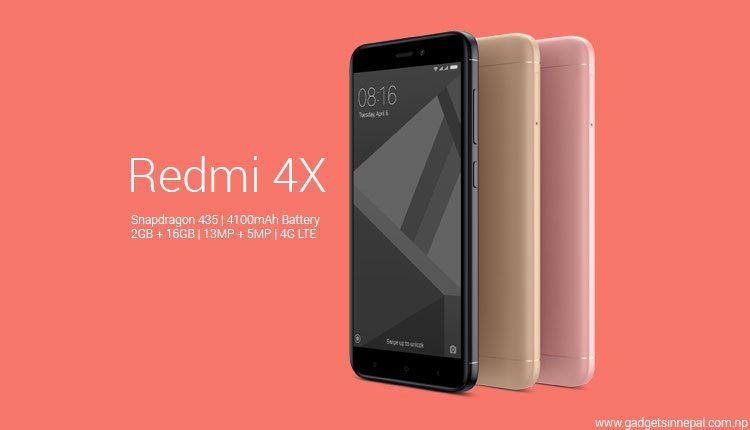 Xiaomi redmi 4x price in nepal gadgets in nepal redmi 4x price in nepal stopboris Gallery