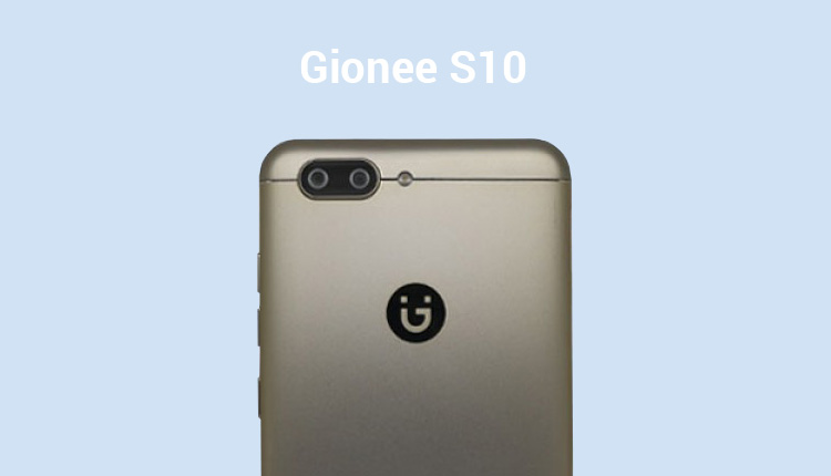 Gionee S10 Specs leaked Via TENAA Along With Product Images