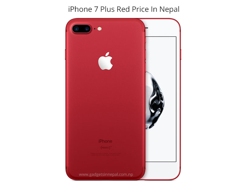 7 Apple IPhone Plus PRODUCT RED