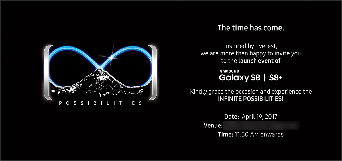 Samsung Galaxy S8 and S8+ Launch Event