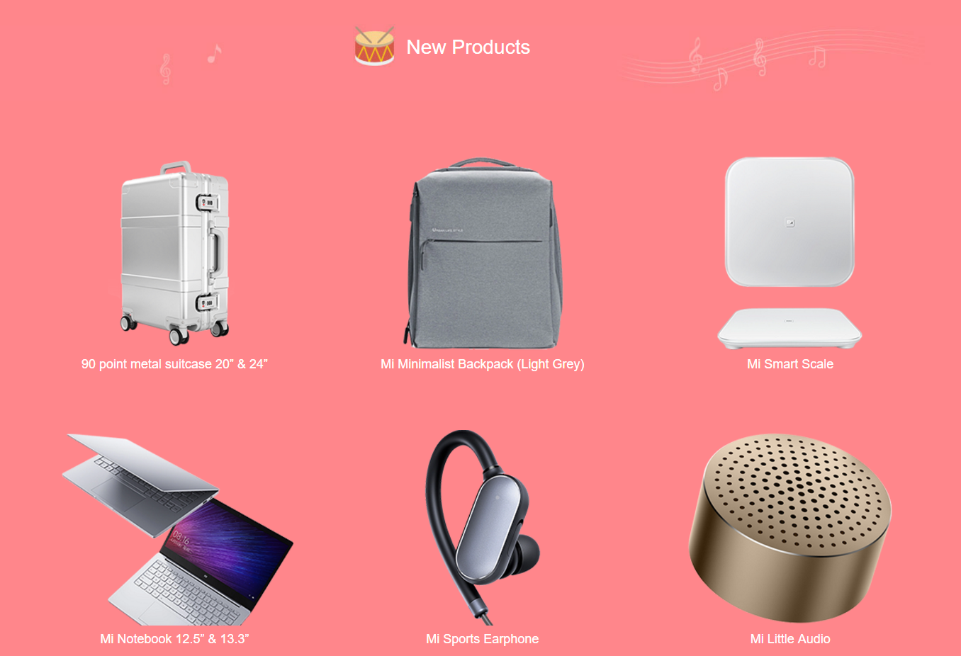 Xiaomi upcoming new products