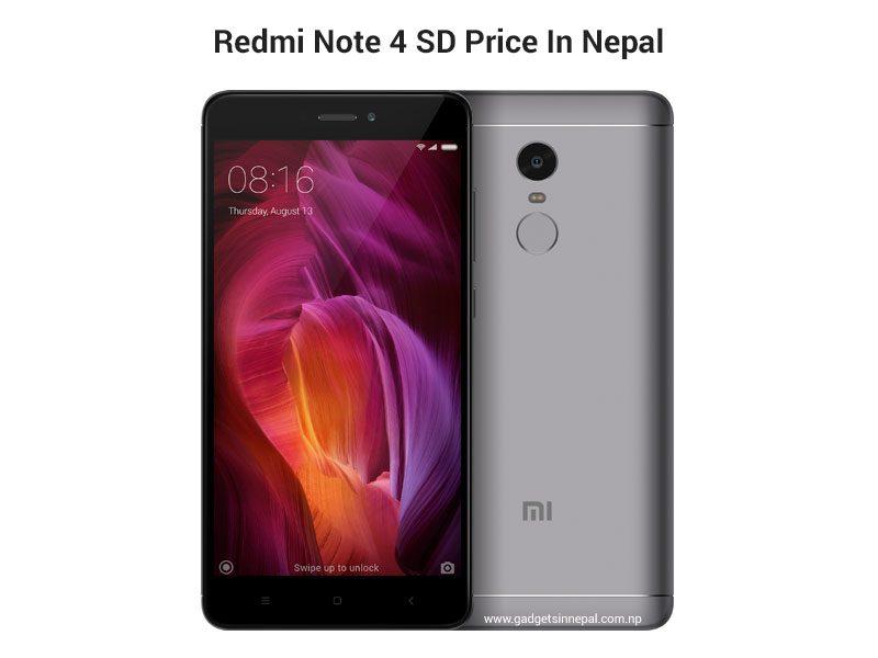 Redmi Note 4 SD Price In Nepal