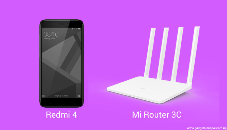 Mi India Launches Redmi 4 and Mi Router 3C In India