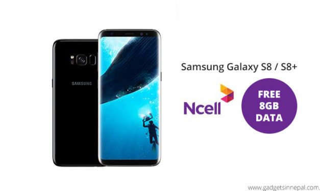 Get Samsung Galaxy S8/S8+ With Best Value From Ncell