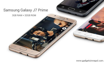 Samsung Galaxy J7 Prime 32GB Variant Launched In Nepal