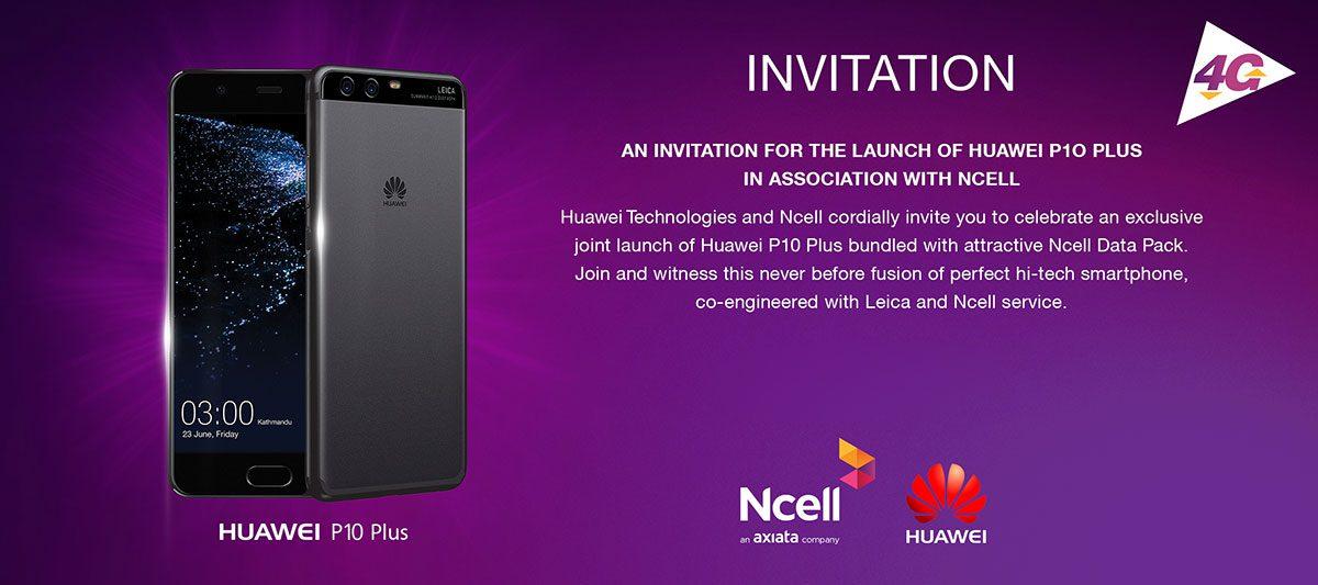 Huawei P10 Plus Launching Tomorrow In Nepal