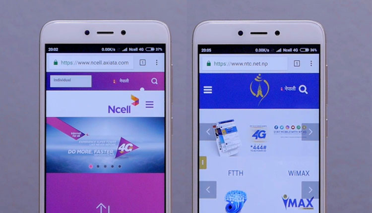 NTC 4G Vs  Ncell 4G - Comparison on Coverage, Speed and Data