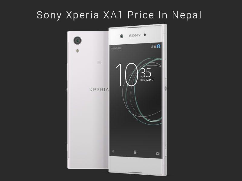 Sony Xperia XA1 Price In Nepal