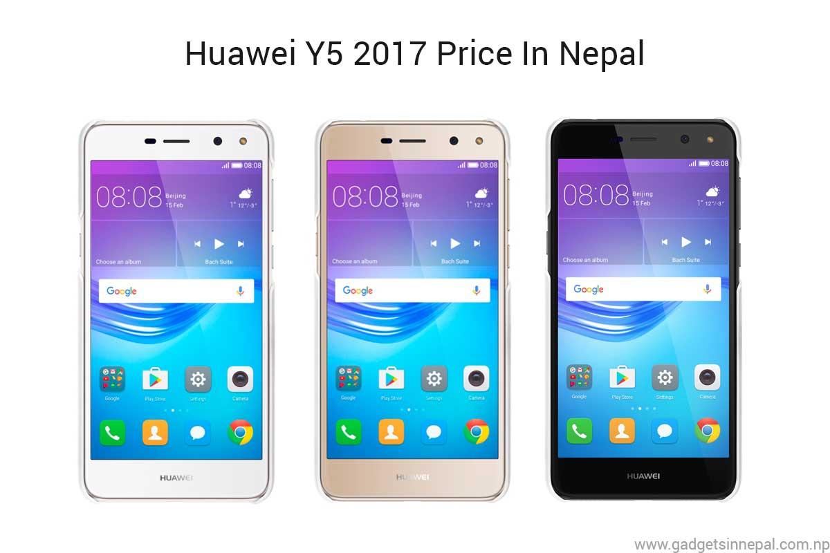 Huawei Y5 2017 price in Nepal