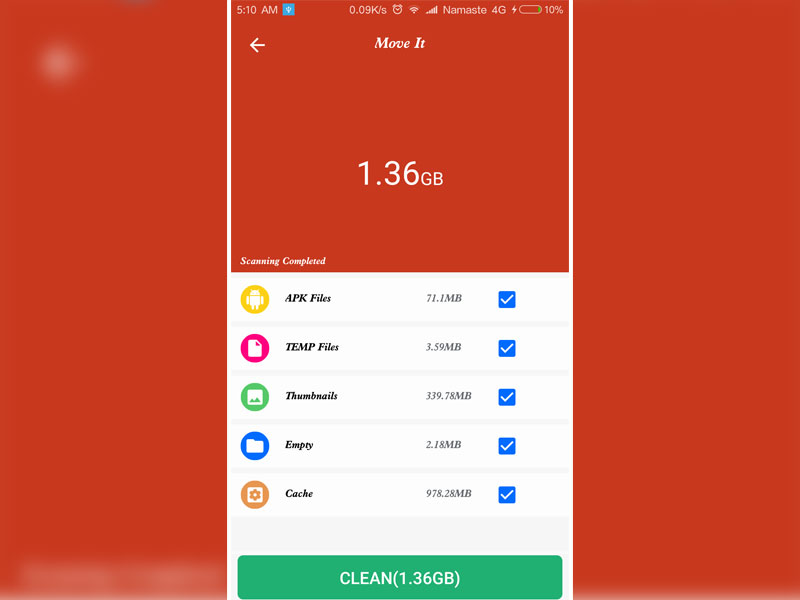 MoveIt - File Manager Android App