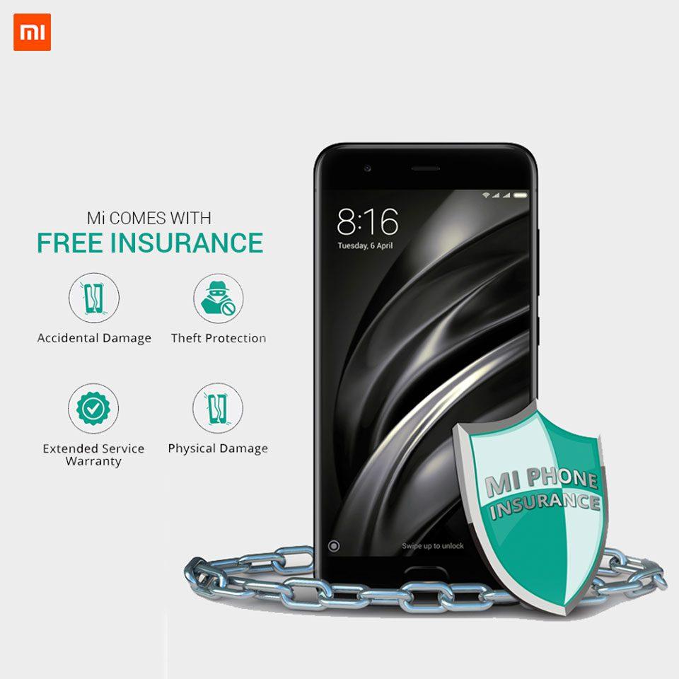 Free Mi Insurance offered by Mi Nepal