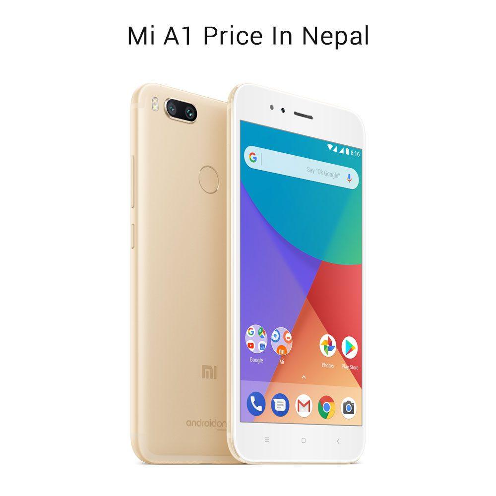 Xiaomi Mobile Price In Nepal 2018 Updated Gadgets Redmi 6a Ram 2 Internal 16 4glte Mi A1
