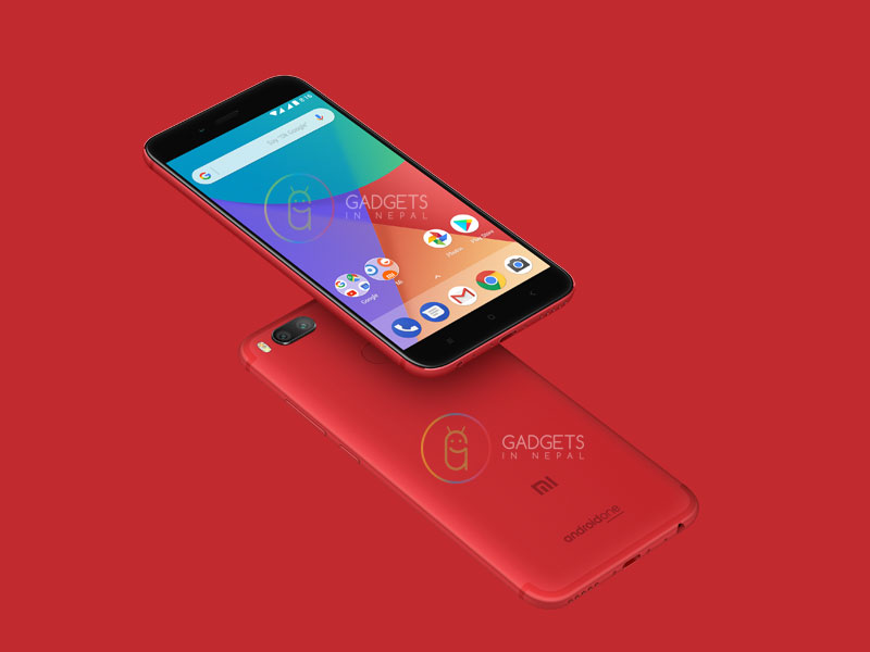 Mi A1 in RED Color