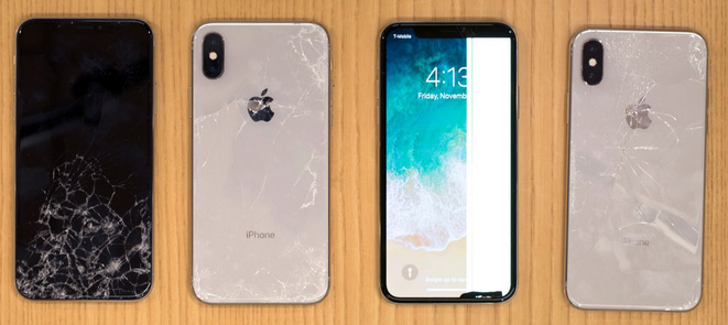 Apple iPhone X Rated As High Breakability Risk
