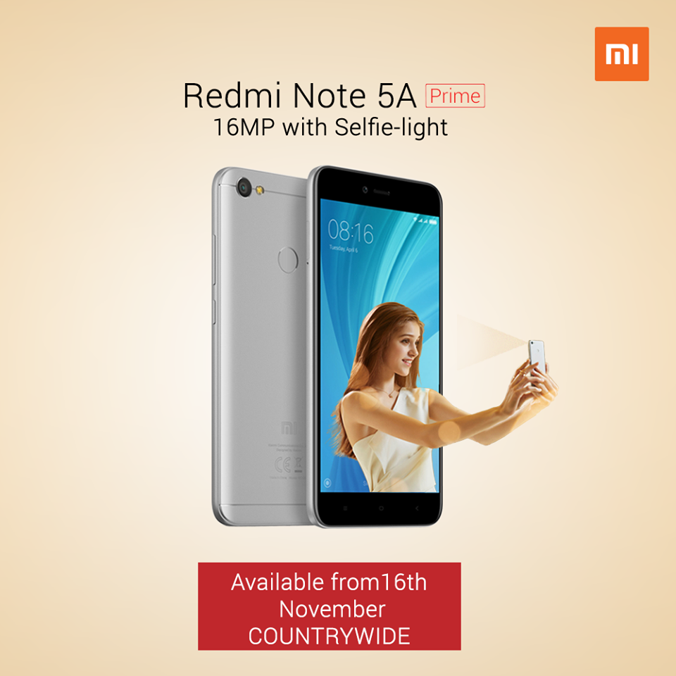 Xiaomi Redmi Note 5A Prime Launched in Nepal | Gadgets In Nepal
