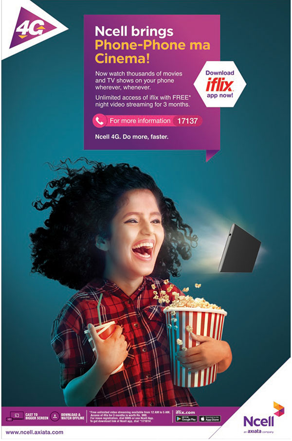 iflix offer by Ncell