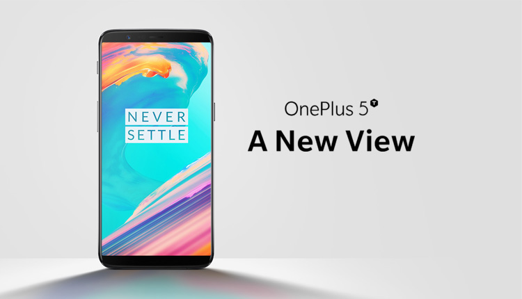 OnePlus 5T announced with new display and camera