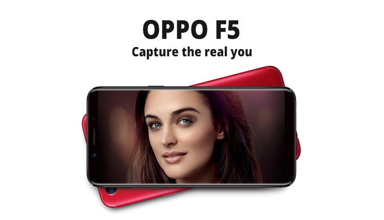 OPPO F5 Launched In India with 20MP selfie Camera and AI tech
