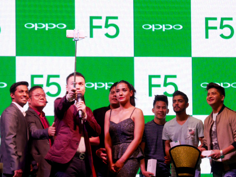 Oppo F5 launch event in Nepal