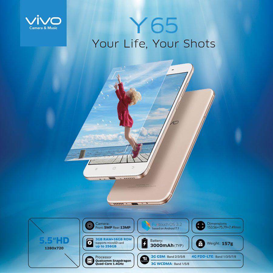 Vivo Y65 price in Nepal