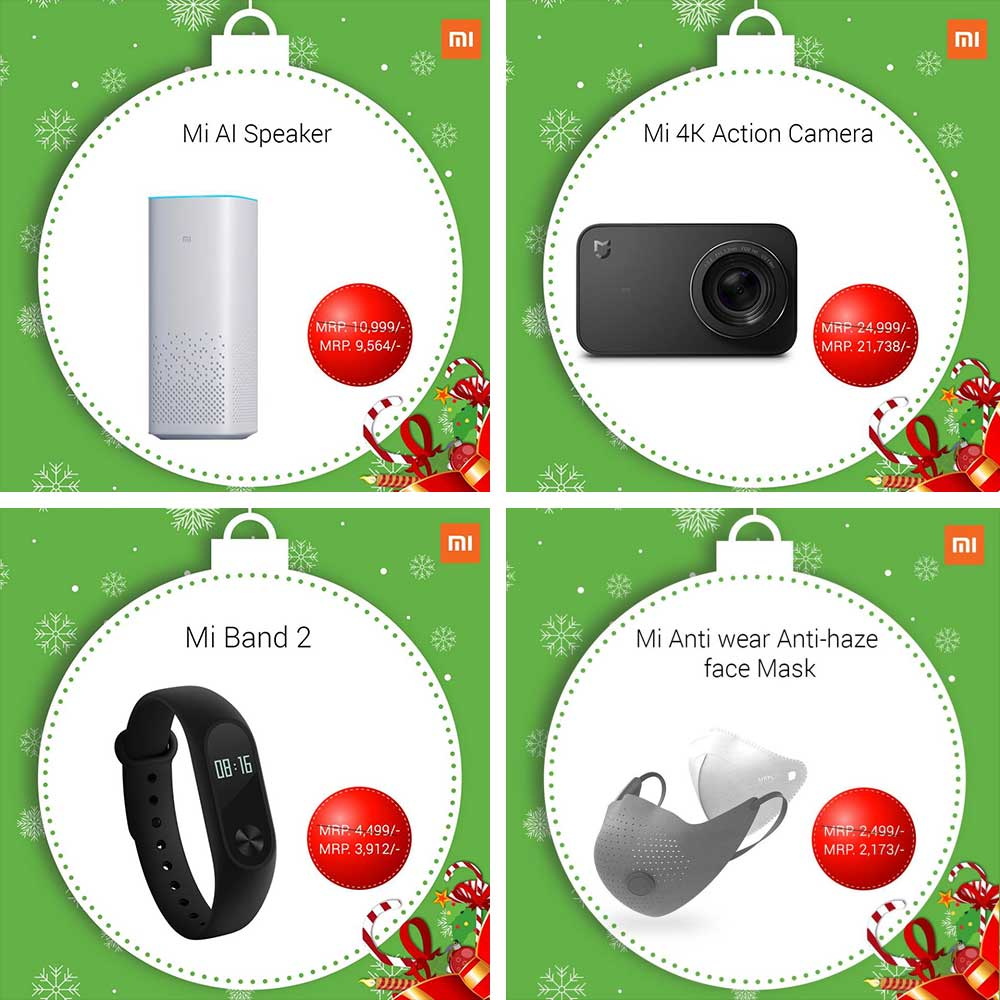 Christmas Offers on Xiaomi Products