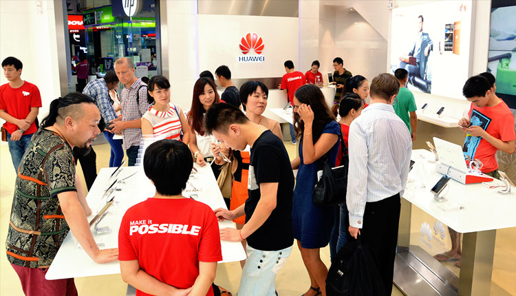 Huawei shipped 153 million smartphones