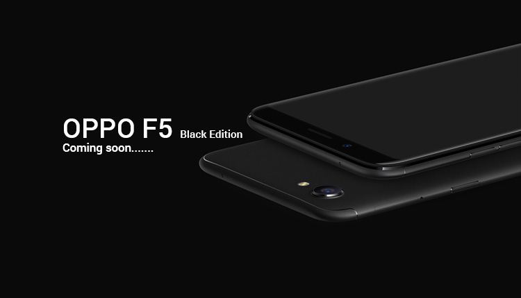 Oppo F5 Black Edition Launching Soon In Nepal