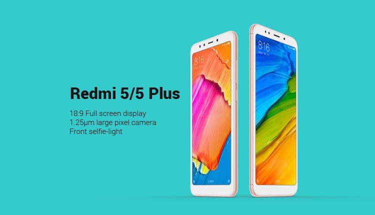 Redmi 5 and Redmi 5 Plus Officially announced