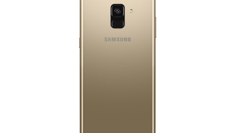 Samsung Galaxy A8(2018) and A8+(2018) Gold