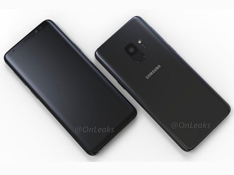 Samsung Galaxy S9 Render Leaked Image by @OnLeaks