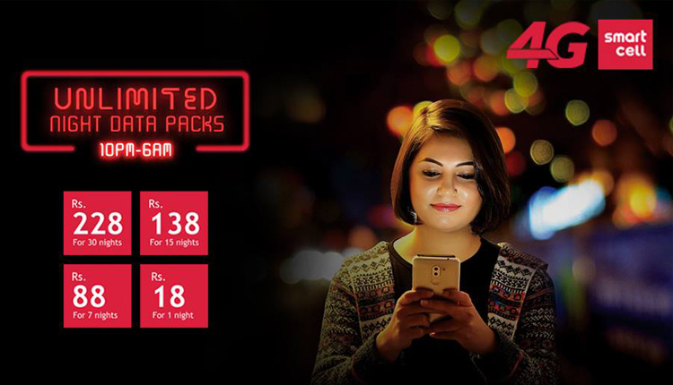 Unlimited Data packs In Nepal from SmartCell