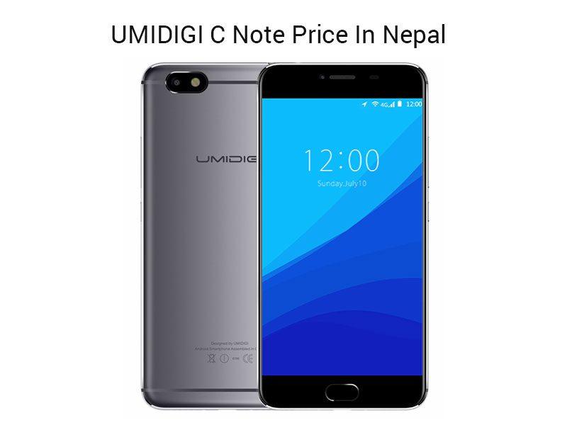 UMIDIGI C Note Price In Nepal