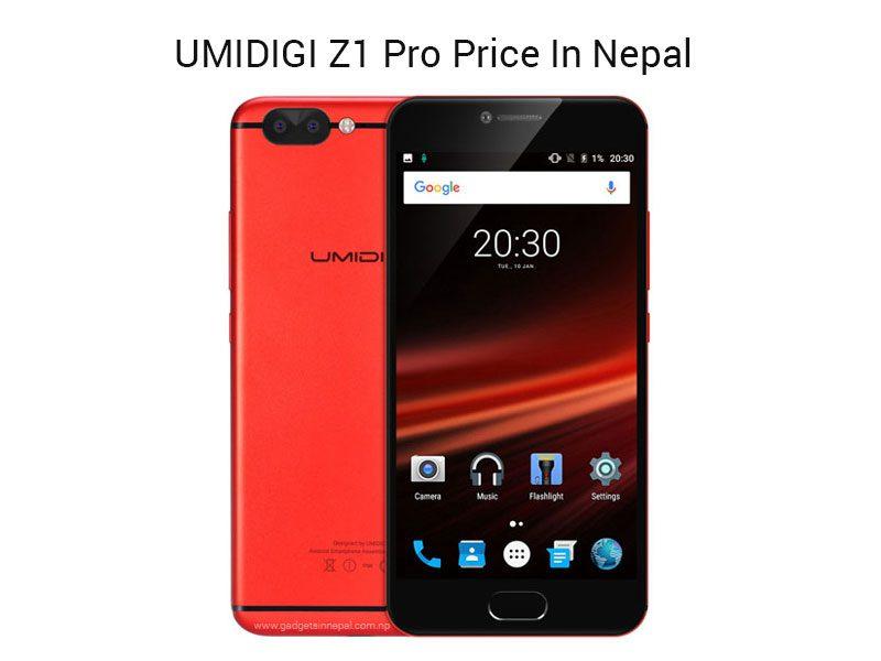 UMIDIGI Z1 Pro Price In Nepal