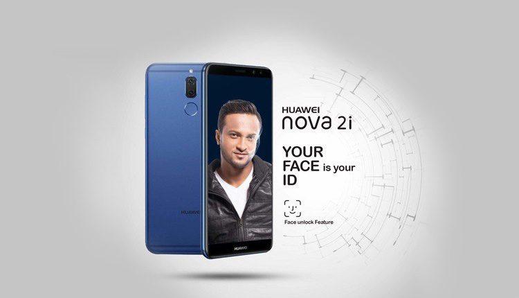 Face unlock on Nova 2i
