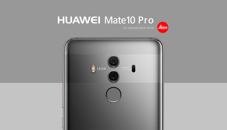 Huawei Mate 10 Pro camera features