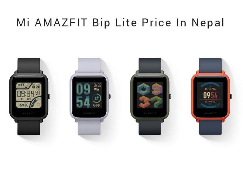 Mi AMAZFIT bip Lite Youth Price In Nepal