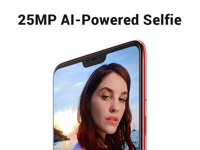 Oppo F7 with AI-Powered 25MP Selfie Camera