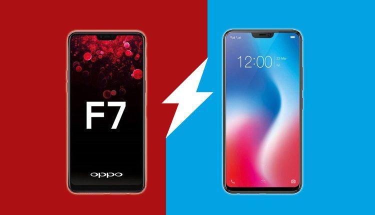 d2867b4e607 Oppo F7 vs Vivo V9   Specs Comparison