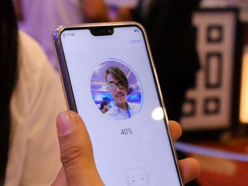 Face Unlock Feature on Vivo V9