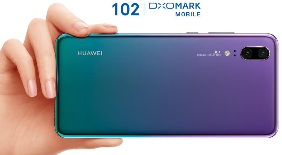 Huawei P20 Camera Rating