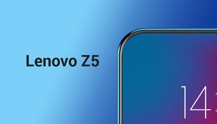 Lenovo Z5 leaks & rumors