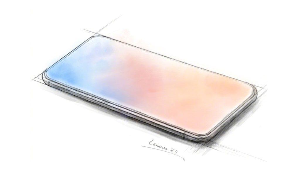 Lenovo Z5 sketch by Chang Cheng