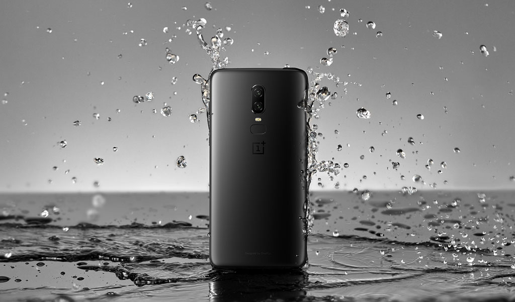 OnePlus 6 comes with Water Resistance Body