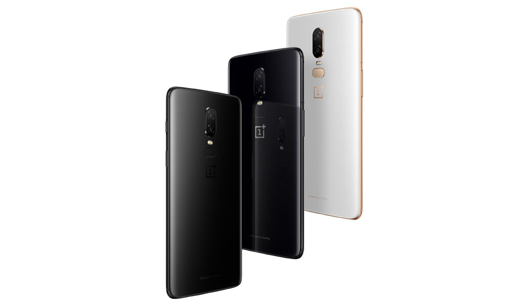 OnePlus 6 comes with 3 color option