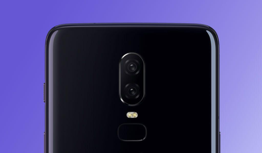 OnePlus 6 Dual Rear Camera