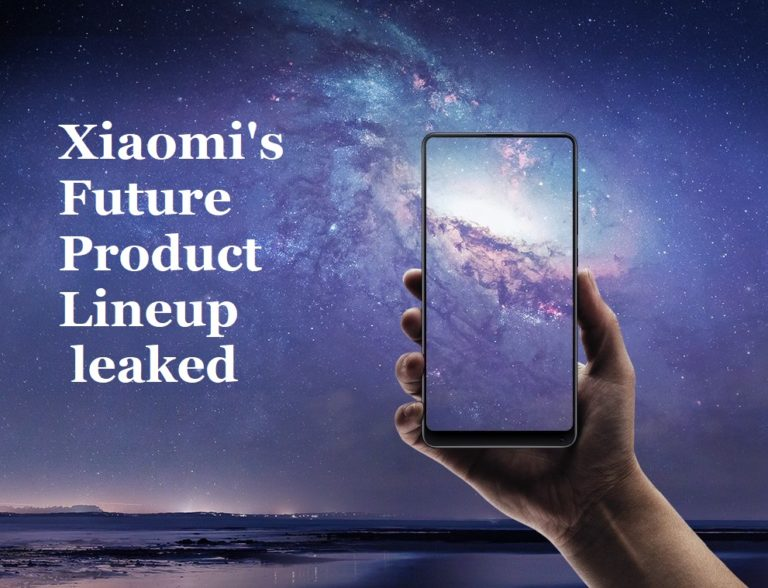 xiaomi product lineup leaks