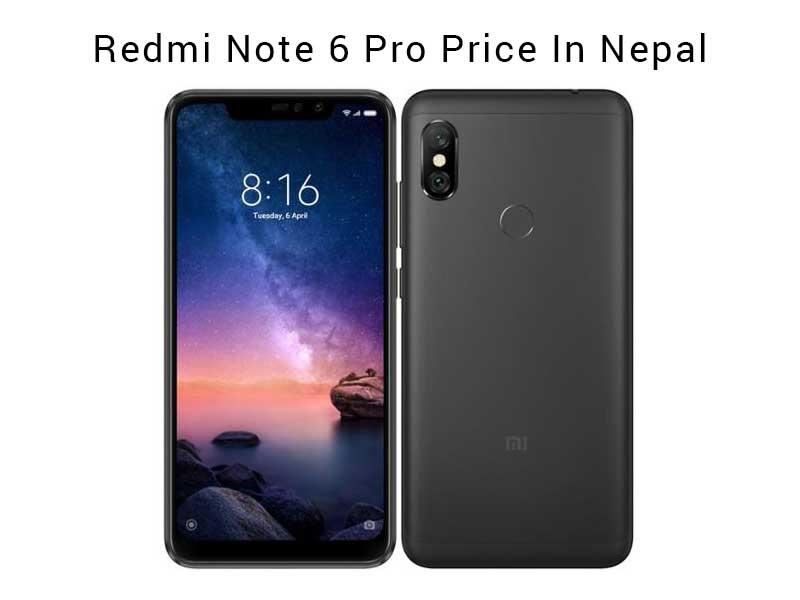 Redmi Note 6 Pro Price In Nepal