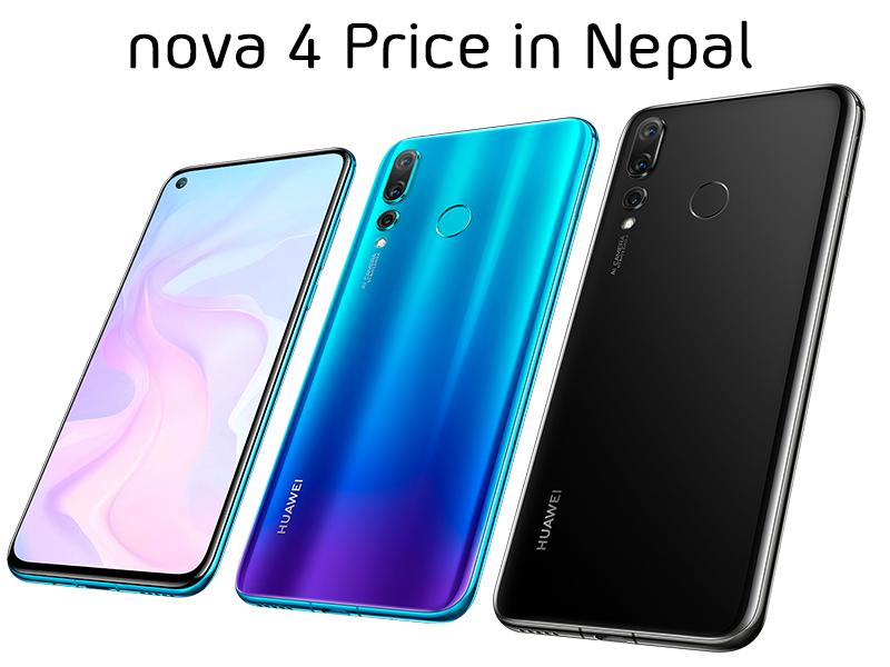 Nova 4 Price in Nepal